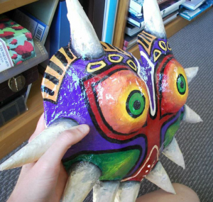 Majora's Mask side on view