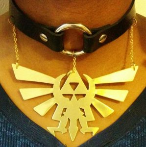 Triforce Emblem with Choker