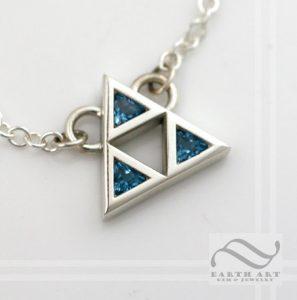 bluetrifocenecklace