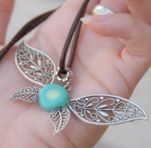 Glowing Navi the Fairy Necklace