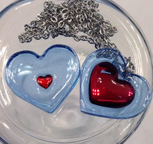 Heart Piece and Container Necklaces