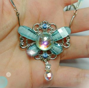 Ornate Navi the Fairy Necklace