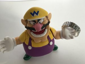 Wario takes the ring!
