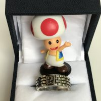 Toad with mario ring